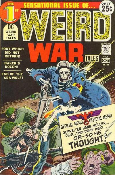 Weird War Tales Comic Book Back Issues by A1 Comix