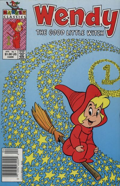 Wendy the Good Little Witch Comic Book Back Issues by A1 Comix