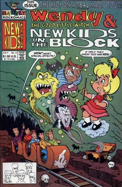 Wendy & The New Kids on the Block A1 Comix Comic Book Database