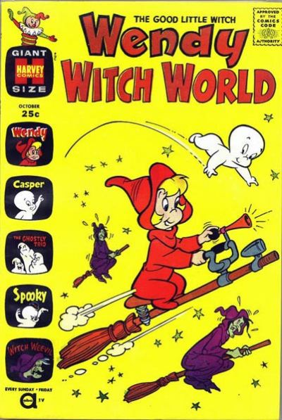 Wendy Witch World Comic Book Back Issues by A1 Comix