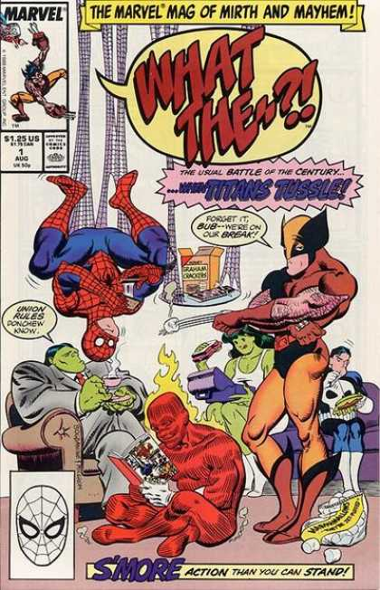 What The Comic Book Back Issues of Superheroes by A1Comix