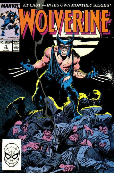Wolverine Comic Book Back Issues of Superheroes by A1Comix