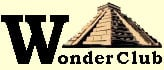 Wonder Club world wonders pyramid logo