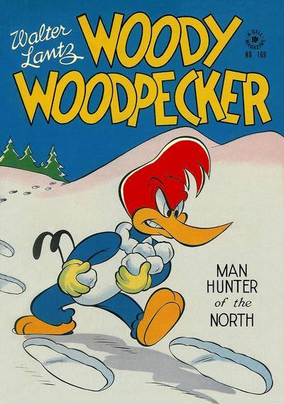 Woody Woodpecker Comic Book Back Issues by A1 Comix