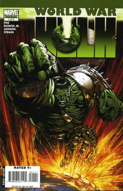 World War Hulk Comic Book Back Issues of Superheroes by A1Comix