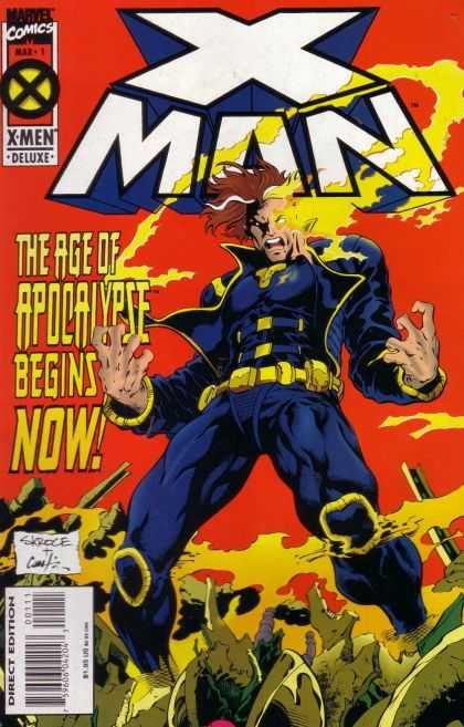 X-Man Comic Book Back Issues of Superheroes by A1Comix