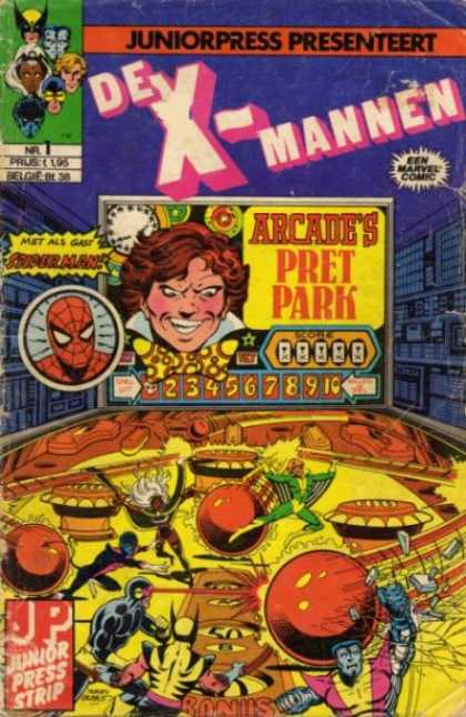 X-Mannen Comic Book Back Issues by A1 Comix