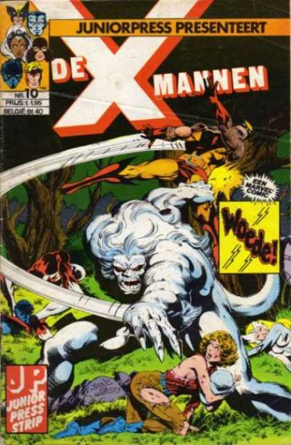 X-Mannen A1 Comix Comic Book Database