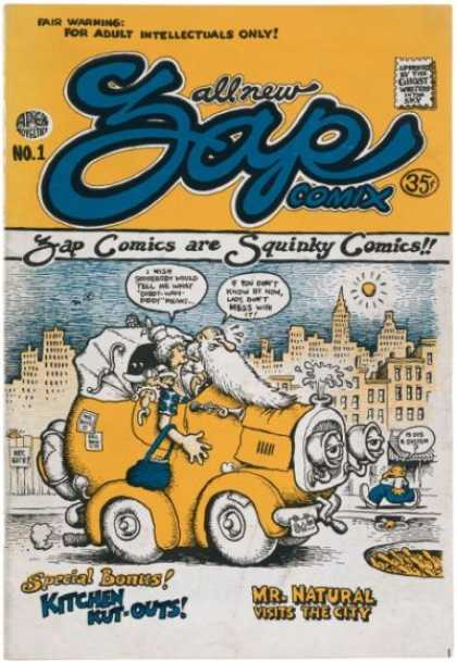 Zap Comic Book Back Issues by A1 Comix
