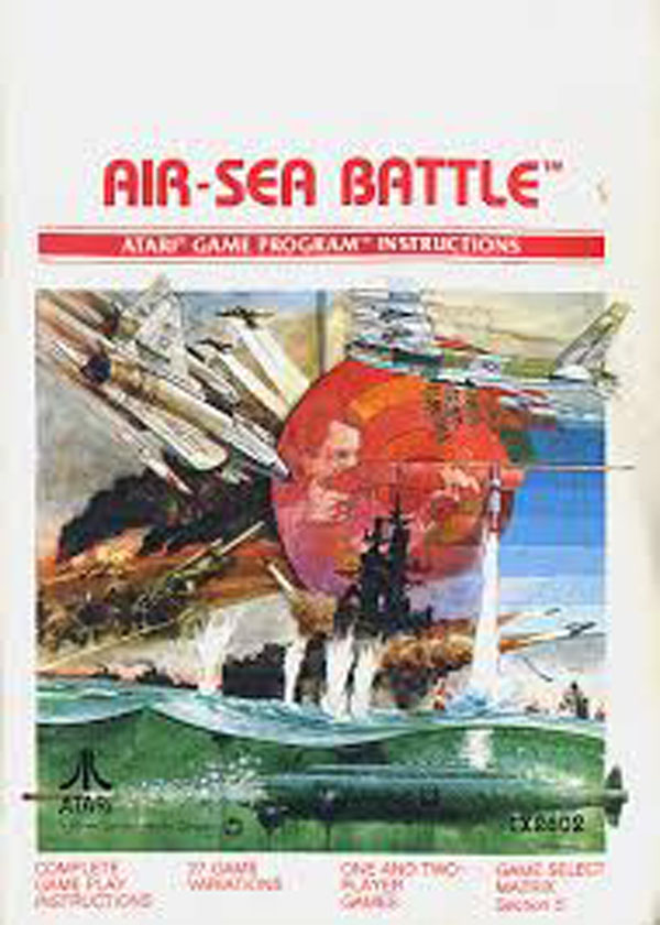 Air-Sea Battle Video Game Back Title by WonderClub