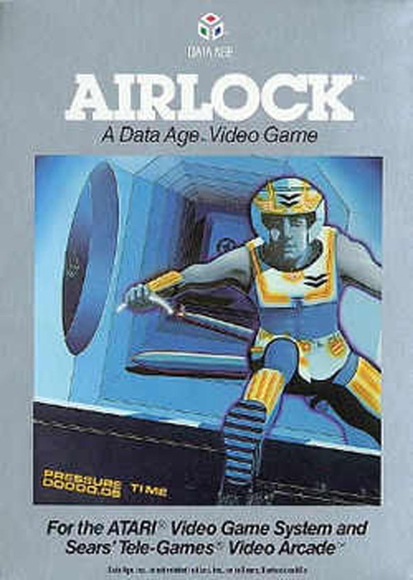 Airlock (video Game) Video Game Back Title by WonderClub