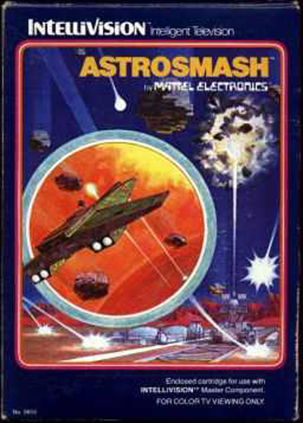 Astrosmash Video Game Back Title by WonderClub