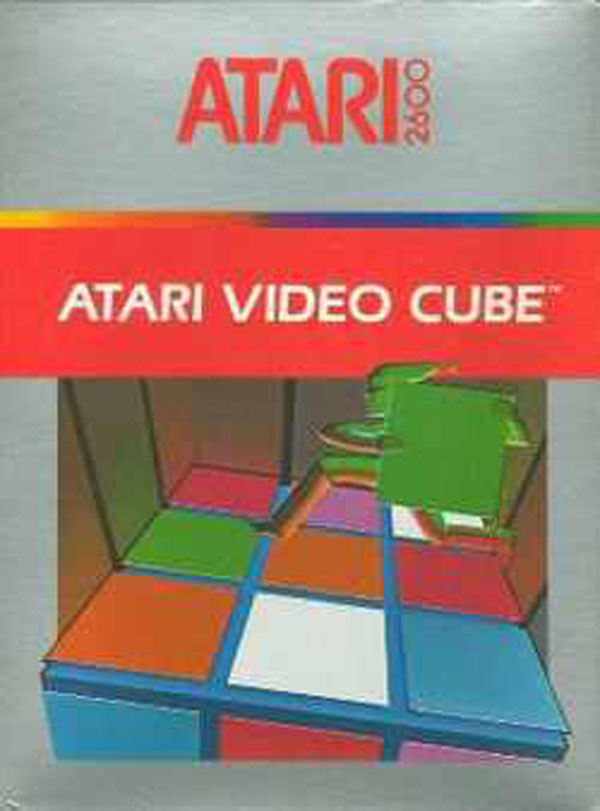 Atari Video Cube Video Game Back Title by WonderClub