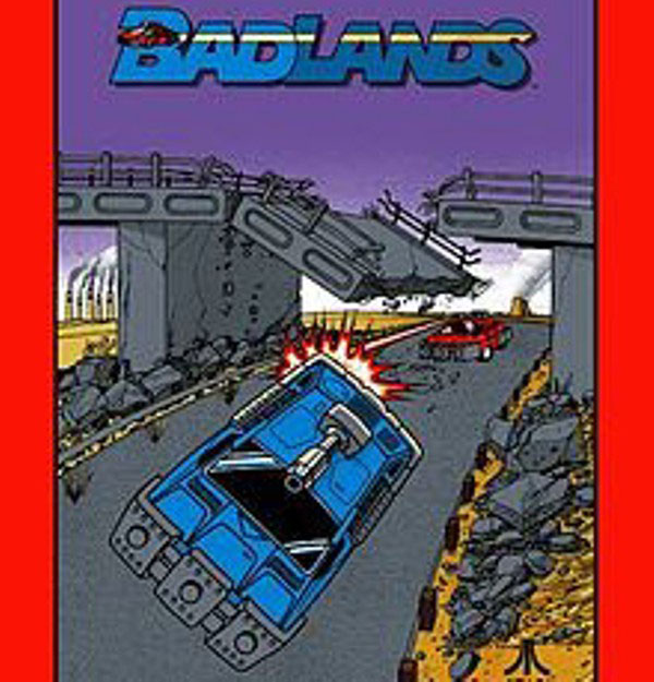 Badlands Video Game Back Title by WonderClub