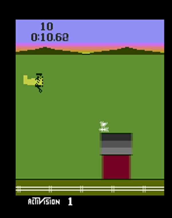 Barnstorming Video Game Back Title by WonderClub