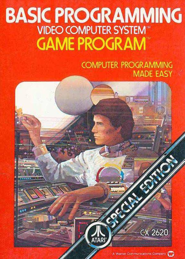BASIC Programming Video Game Back Title by WonderClub