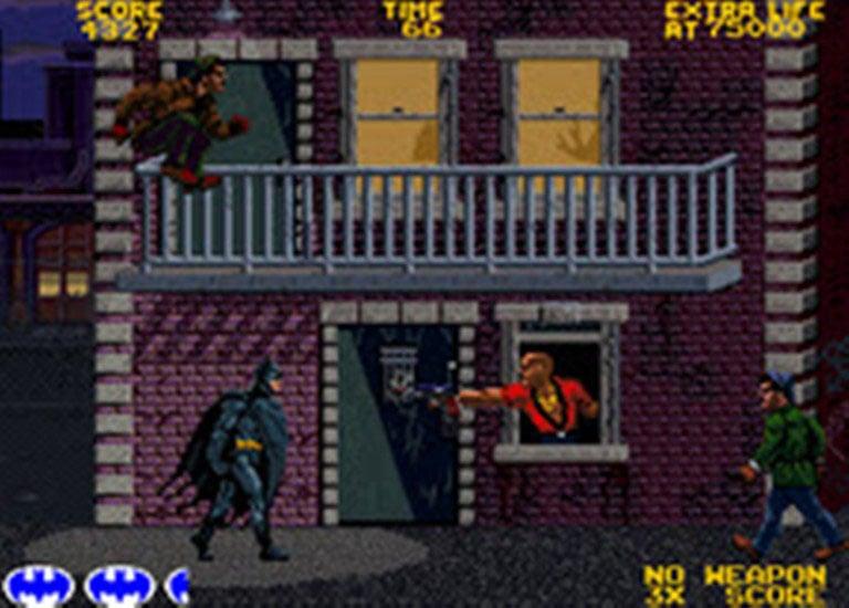 Batman Video Game Back Title by WonderClub
