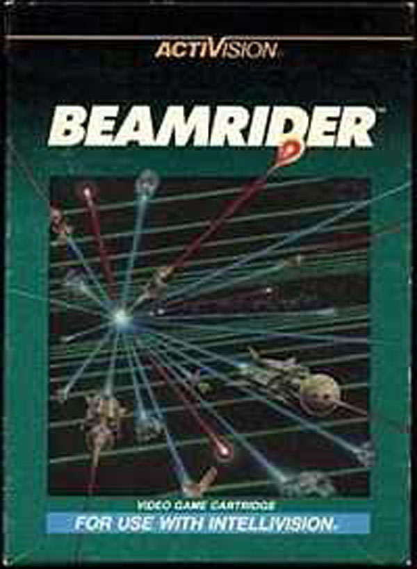 Beamrider Video Game Back Title by WonderClub