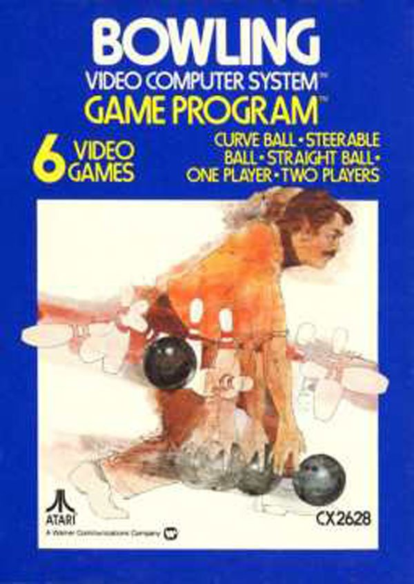 Bowling (video Game) Video Game Back Title by WonderClub
