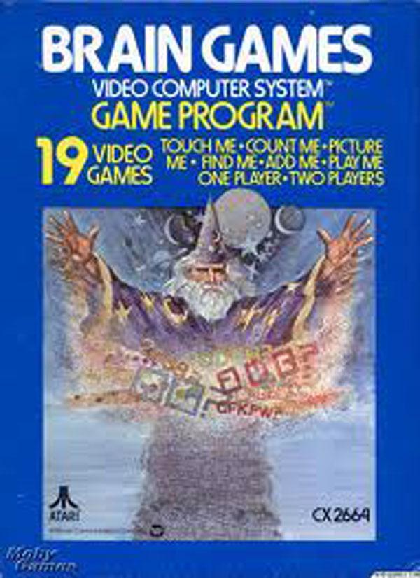 Brain Games Video Game Back Title by WonderClub