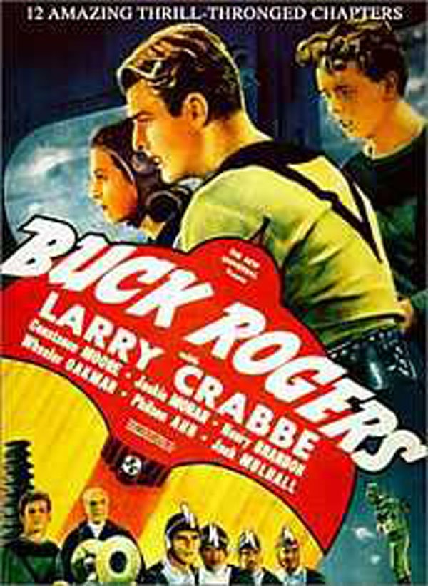 Buck Rogers Video Game Back Title by WonderClub