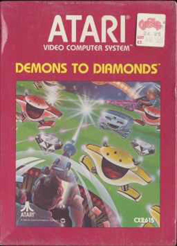 Demons To Diamonds Video Game Back Title by WonderClub