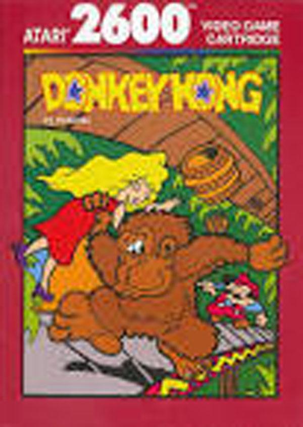 Donkey Kong Video Game Back Title by WonderClub