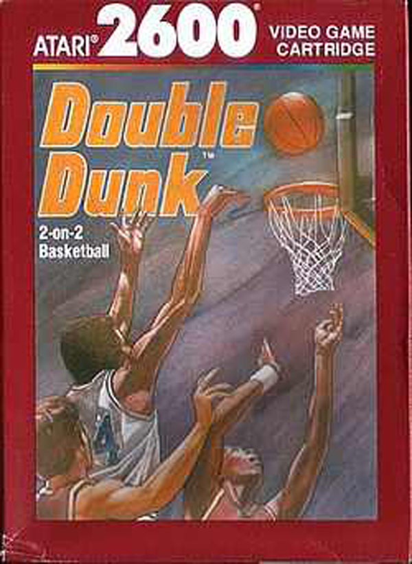 Double Dunk Video Game Back Title by WonderClub