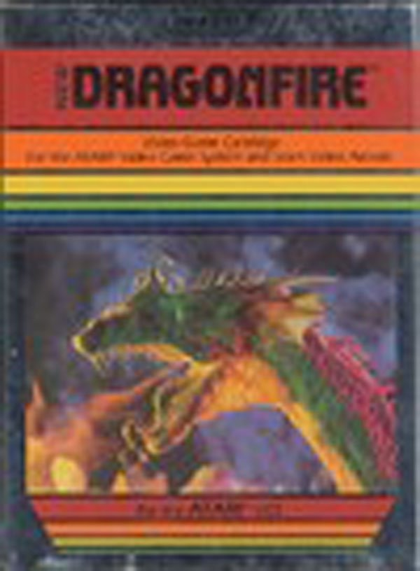 Dragonfire (video Game) Video Game Back Title by WonderClub