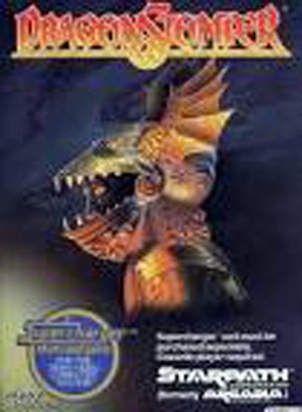 Dragonstomper Video Game Back Title by WonderClub