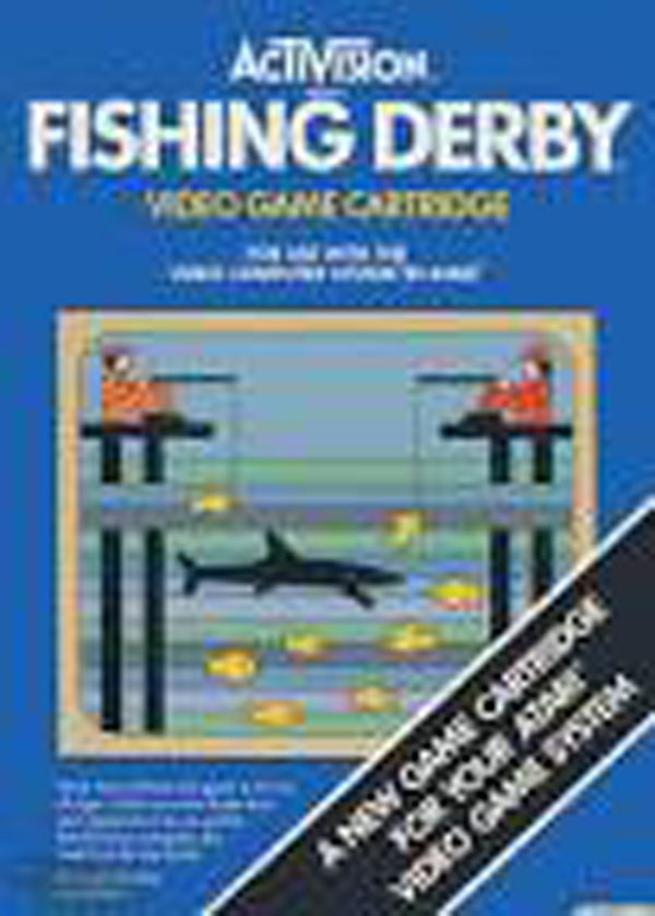 Fishing Derby Video Game Back Title by WonderClub