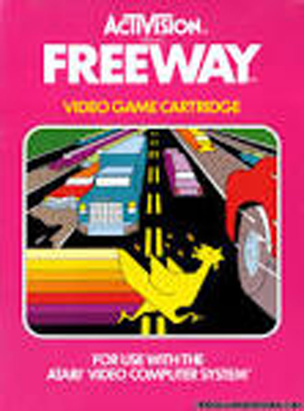 Freeway (video Game) Video Game Back Title by WonderClub