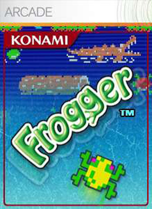Frogger Video Game Back Title by WonderClub