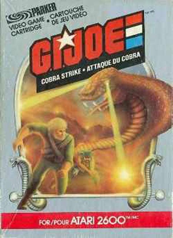 G.I. Joe: Cobra Strike Video Game Back Title by WonderClub