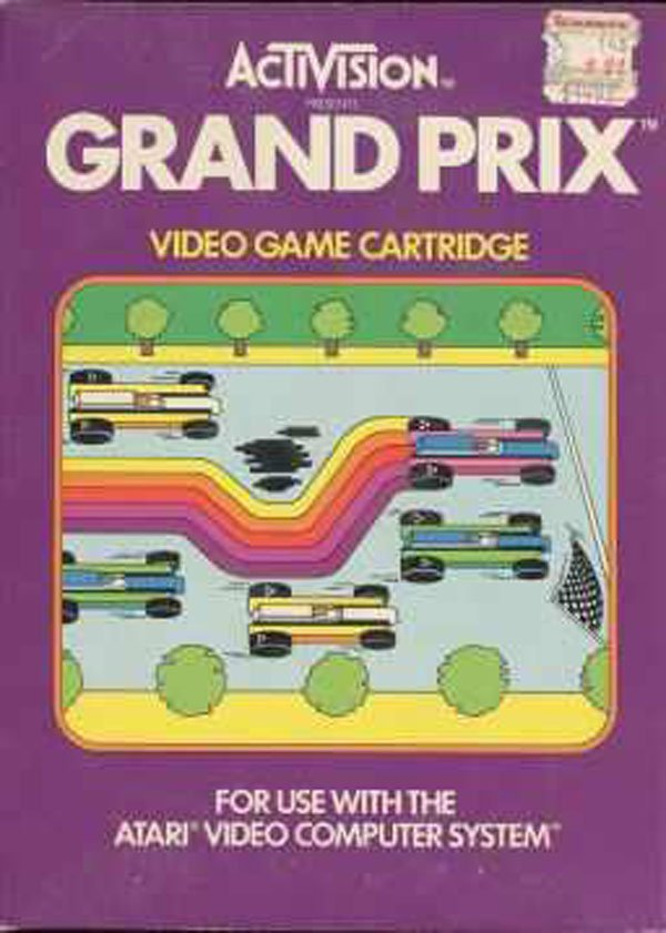 Grand Prix Video Game Back Title by WonderClub