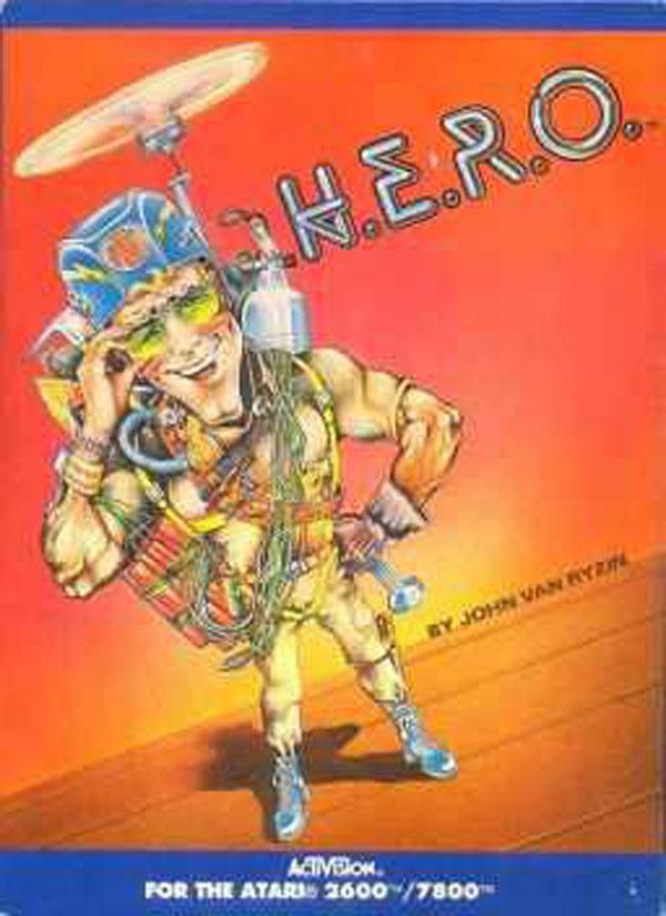 H.E.R.O. Video Game Back Title by WonderClub