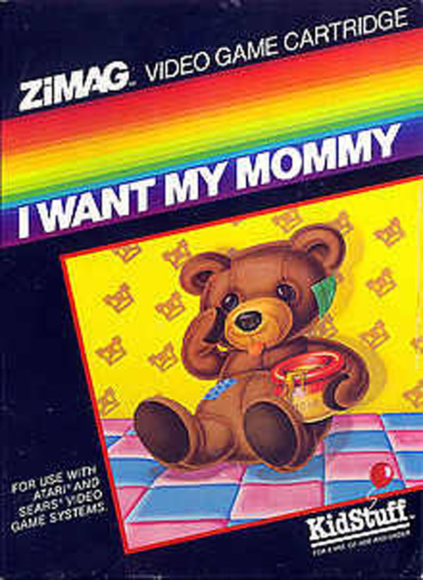 I Want My Mommy Video Game Back Title by WonderClub