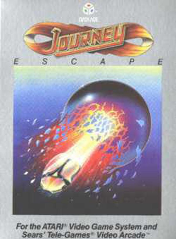 Journey Escape Video Game Back Title by WonderClub