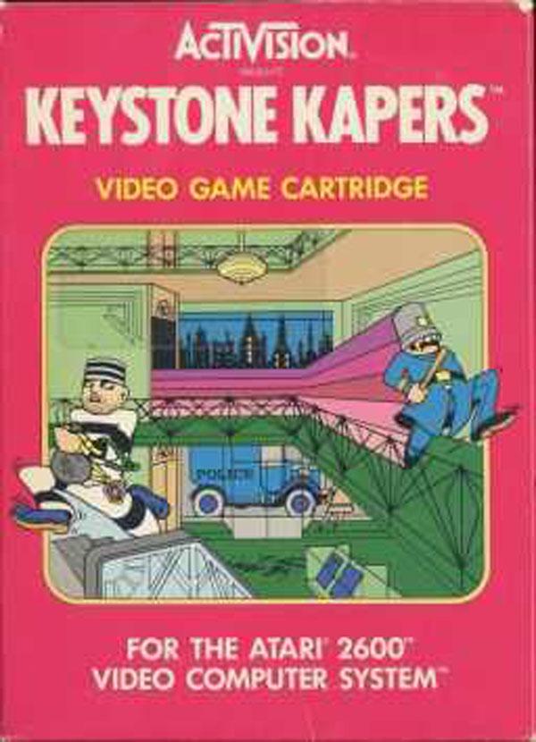 Keystone Kapers Video Game Back Title by WonderClub
