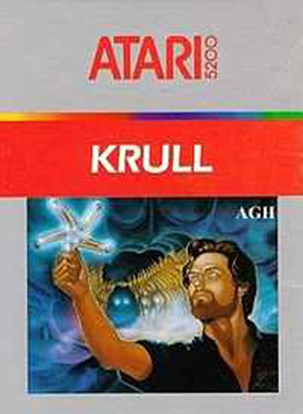 Krull (video Game) Video Game Back Title by WonderClub