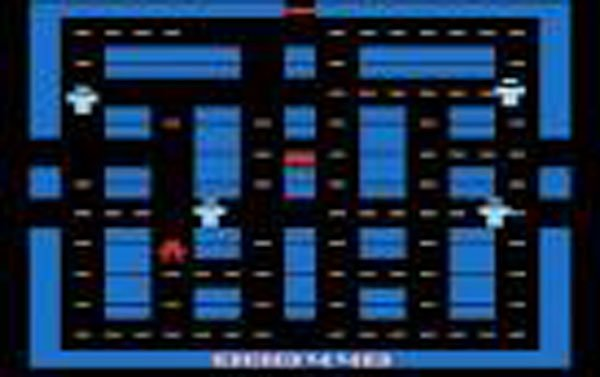 Lock 'n' Chase Video Game Back Title by WonderClub
