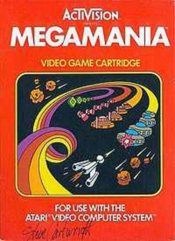 Megamania Video Game Back Title by WonderClub