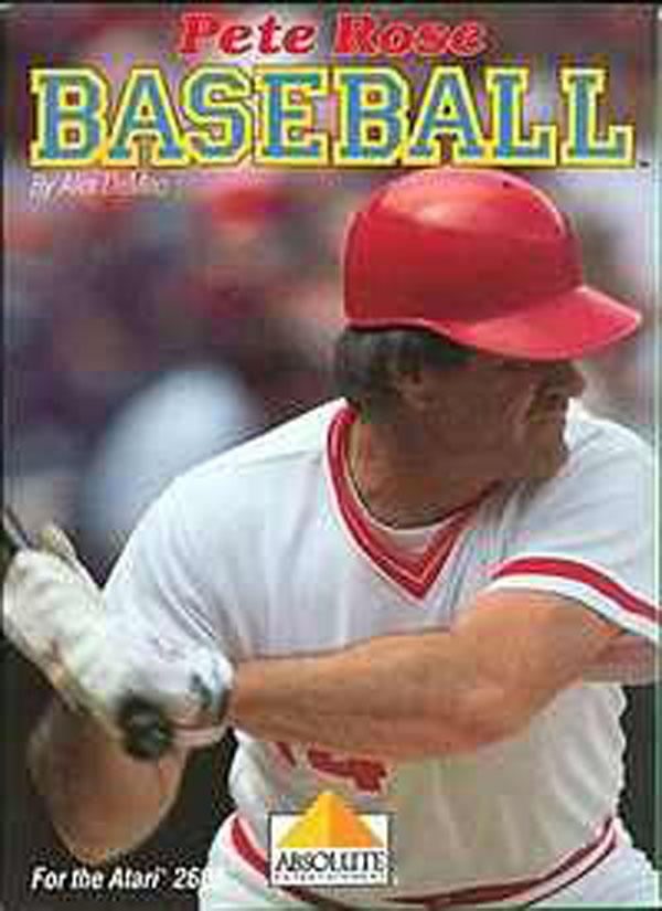 Pete Rose Baseball Video Game Back Title by WonderClub