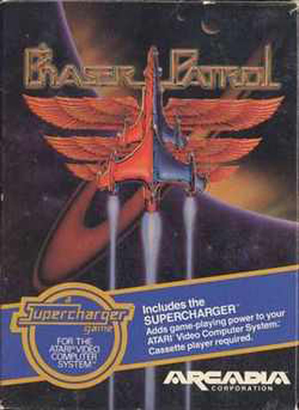 Phaser Patrol Video Game Back Title by WonderClub