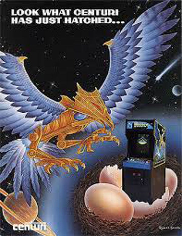 Phoenix (video Game) Video Game Back Title by WonderClub