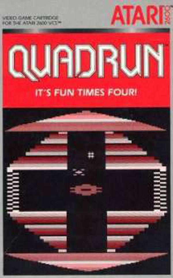 Quadrun Video Game Back Title by WonderClub