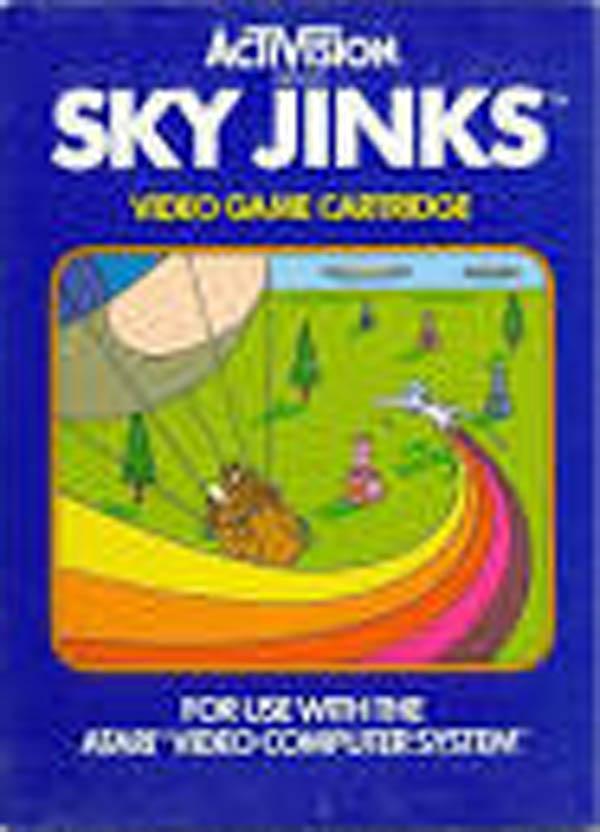 Sky Jinks Video Game Back Title by WonderClub