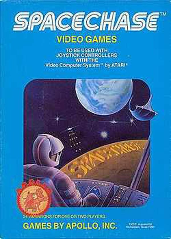 Spacechase Video Game Back Title by WonderClub