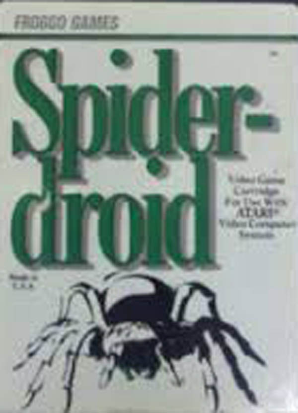 Spiderdroid Video Game Back Title by WonderClub