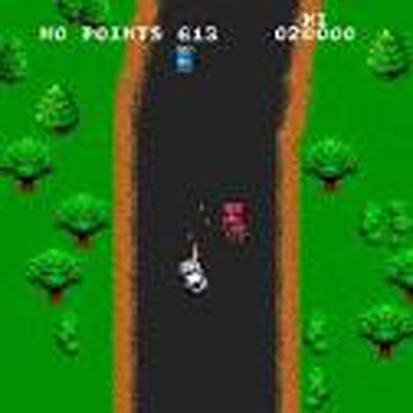 Spy Hunter Video Game Back Title by WonderClub